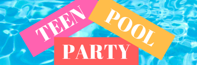 Teen Pizza Party: Thursday, July 12th