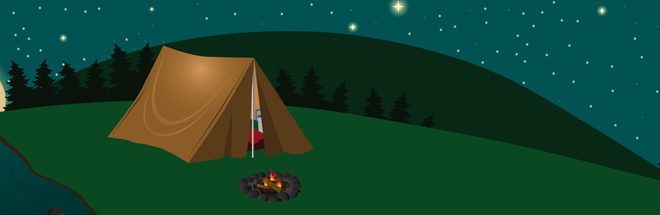 Family Camp Out Night at the Club, Friday August 17th