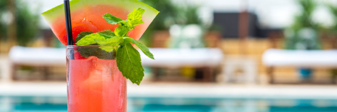 Happy Hour with Live Music on the Pool Deck: July 26th